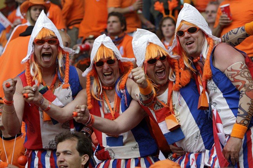 VOETBAL-EK 2008-NEDERLAND vs FRANKRIJK