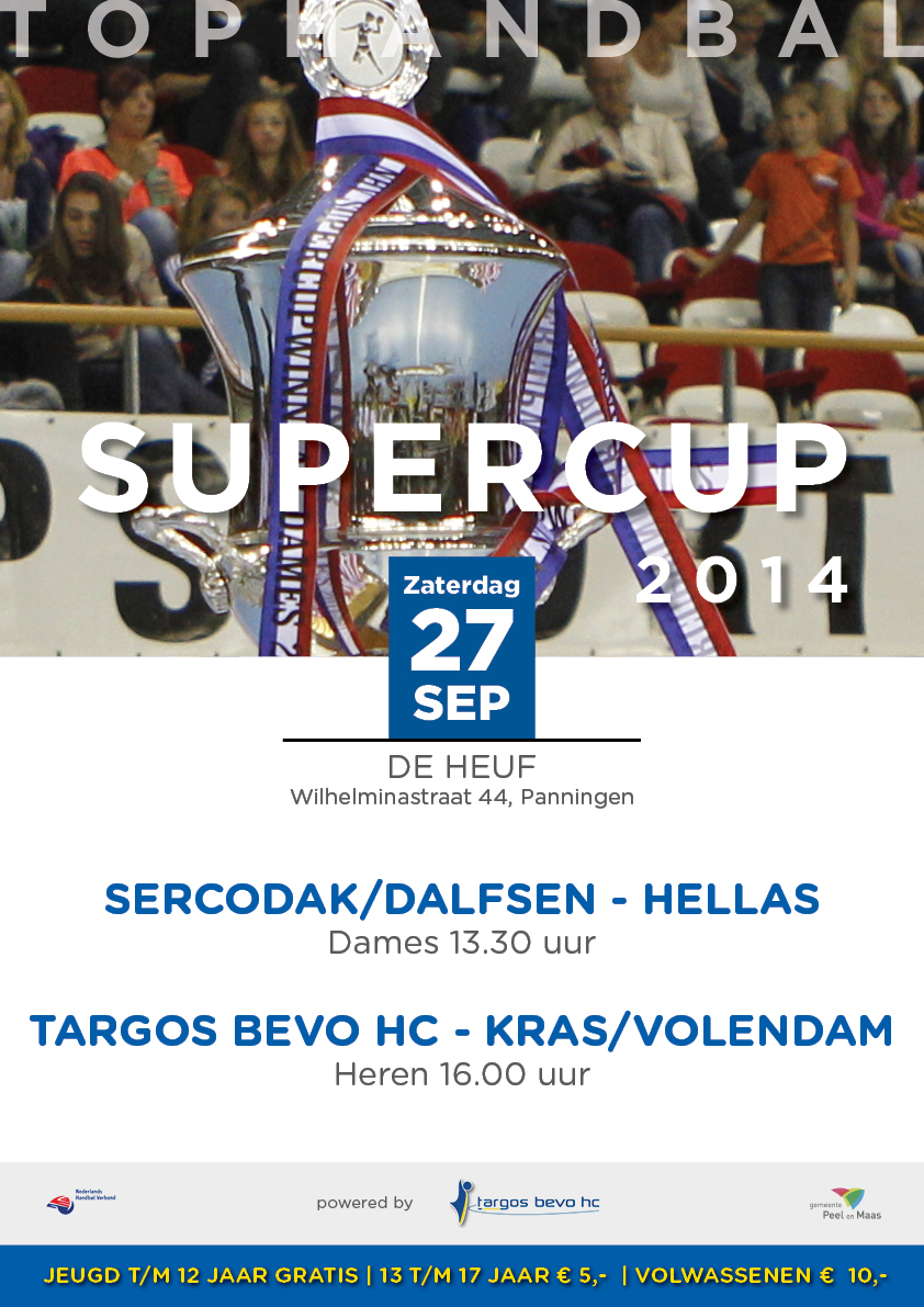 Poster Supercup 2014